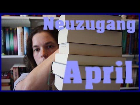 Neuzugänge April 2017: So tolle neue Bücher!