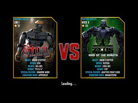 Real Steel WRB Atom VS Zeus NEW UPDATE First Fight