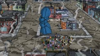 The Simpsons - SPRINGFIELD GETS BURNED DOWN!