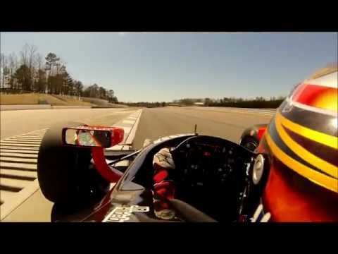 IndyCar Test Laps at Barber Motorsports Park