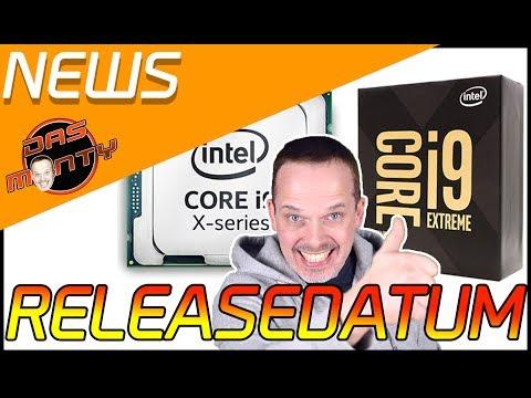 RELEASEDATEN zum Intel Core i9 | Skylake X und Kaby Lake X | Das Monty - Deutsch