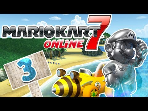 Let's Play Mario Kart 7 Online Part 3: Stachis wohin man schaut