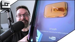 HAPPY HOLIDAY TIMES/1 MILLION SUB PLAY BUTTON! Sl1pg8r Vlog
