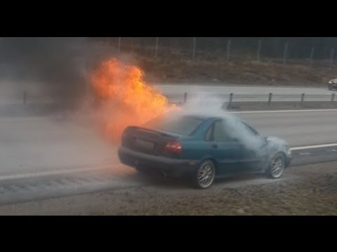 CAR INSURANCE?! OUR CAR EXPLODES AND BURNS (ORIGINAL)