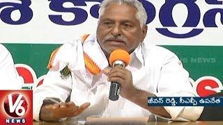 Congress MLA Jeevan Reddy Criticizes Pawan Kalyan Over Praising CM KCR