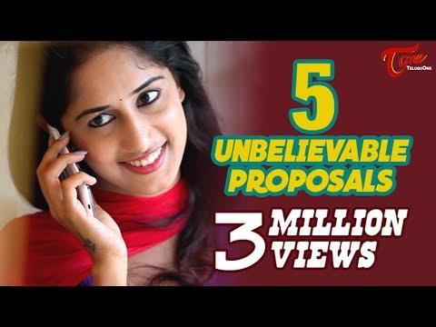 5 Unbelievable Proposals | Latest Short Film 2015 | By Chakradhar Reddy B