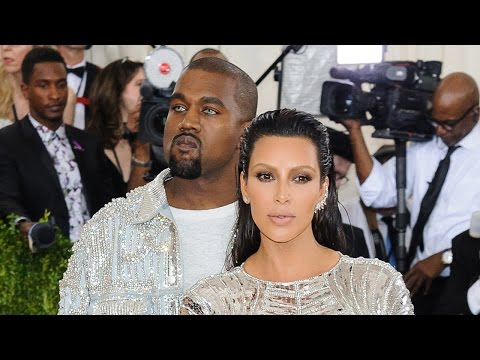 Kim Kardashian Licks Kanye's Face & Named Met Gala's Best Dressed Couple By Vogue