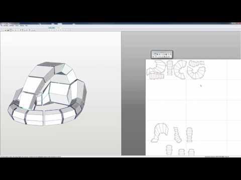 Pepakura Workflow: Part3 Layout