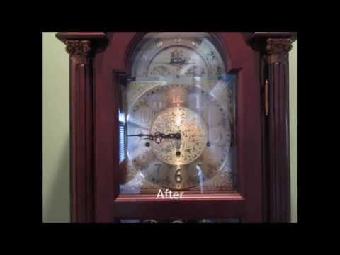 Grandfather Clock Too Loud. The easy fix.