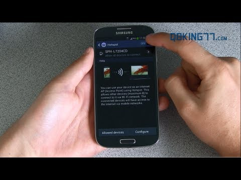 How to Get Free Native Wifi Hotspot on the Sprint Samsung Galaxy S4