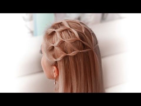 Hair net tutorial: cute hairstyle for a princess/elf/fairy/goddess/angel cosplay