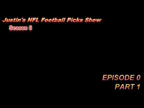 Justin's 2017/2018 NFL Football Picks Show -- Episode 0, Part 1 AFC PREDICTIONS 2017