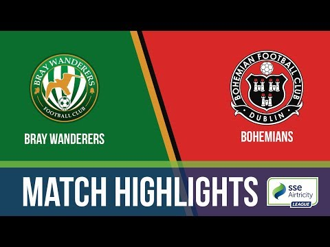 HIGHLIGHTS: Bray Wanderers 1-3 Bohemians