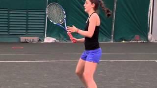 Lindsay Rokito College Tennis Video