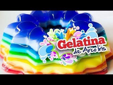 Gelatina Arcoiris