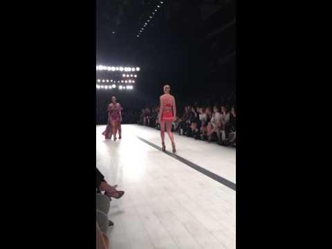 Camilla Runaway Sydney Mercedes fashion show