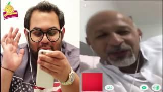 جاسم رجب يقلد صوت بنت ويخرفن شايب مقلب ازار - #الخوذه الحلقه ١