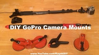Homemade GoPro Camera Mounts for Kayakers & Outdoorsmen