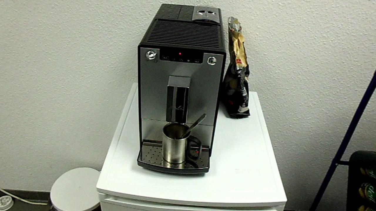 kaffeevollautomat caffeo solo melitta fehlermeldung kaffee alle youtube. Black Bedroom Furniture Sets. Home Design Ideas