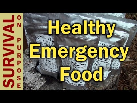 Valley Food Storage 1 Month Emergency Food Supply