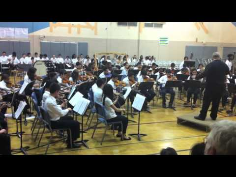 Julius West Middle School Festival Orchestra - Toccatina