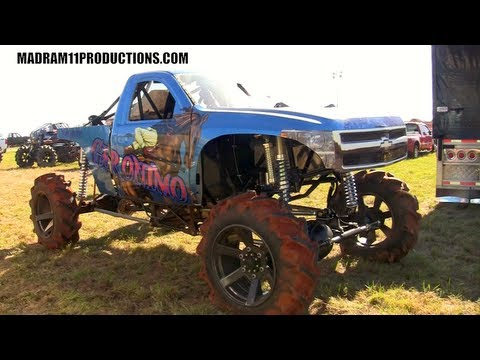 Geronimo Mega Mud Truck Youtube