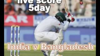 LIVE SCORE CRICKET India v Bangladesh  India won by 208 runs