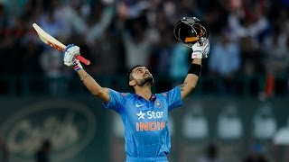 India vs West Indies 4th ODI 2014 | Virat Kohali 127 Runs For 106 Balls
