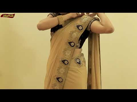 How To Wear Heavy Saree Perfectly | Party Sari Draping Idea To Look Slim & Tall In Proper Pleats thumbnail
