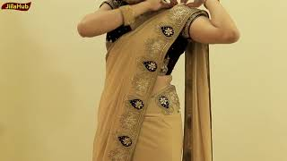 How To Wear Heavy Saree Perfectly | Party Sari Draping Idea To Look Slim & Tall In Proper Pleats