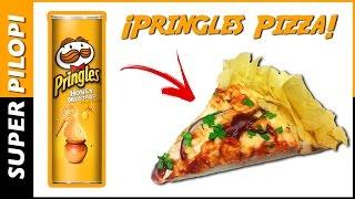Receta Pizza Pringles Miel Mostaza de Pilopi