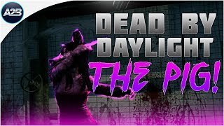Dead by daylight | THE PIG GAMEPLAY + REVERSE BEARTRAP KILL!