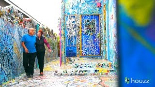First Comes Love, Then Comes a Wildly Colorful Mosaic Home