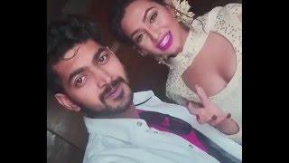 Nusrat Faria Hot Cleavage Show on Hero 420 Movie