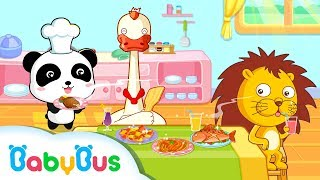 Baby Panda Chef | Game Preview | Educational Games for kids | BabyBus