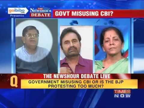 The Newshour Debate: Is the Government using CBI or BJP protesting too much? (Part 3 of 3)