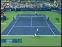 Cincinnati 08: 2R Rog v Ginepri (Highlights Pt 1)