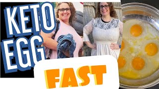 KETO 3 DAY EGG FAST | WHAT I EAT TO LOSE WEIGHT | KETO RESET for weight loss results