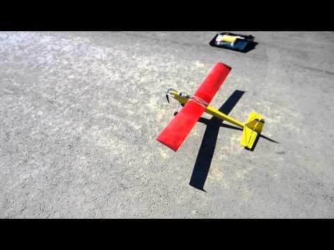 RC Flugzeug - Erster Versuch