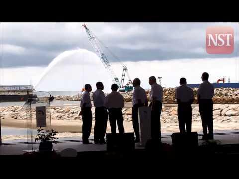 Najib launches Kuantan Port Expansion project