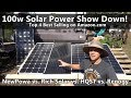 Top 4 Amazon.com 100w Solar Panels Tested! Renogy vs. HQST vs. Rich Solar vs. NewPowa thumbnail