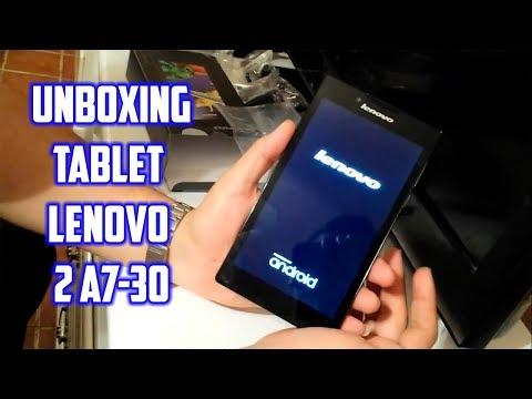 Unboxing Tablet Lenovo 2 A7-30 En Español