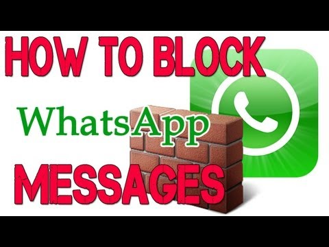 How to Block WhatsApp Messages on iPhone. iPad. iPod Touch