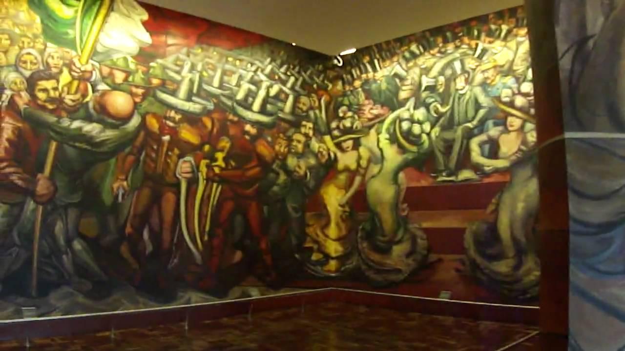 Del porfirismo a la revoluci n obra de david alfaro for El mural de siqueiros