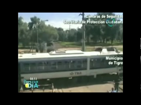 Impresionantes accidentes de tren