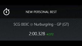 Assetto Corsa -- SCG 003C -- Nurburgring - GP (GT) -- 2:00.328