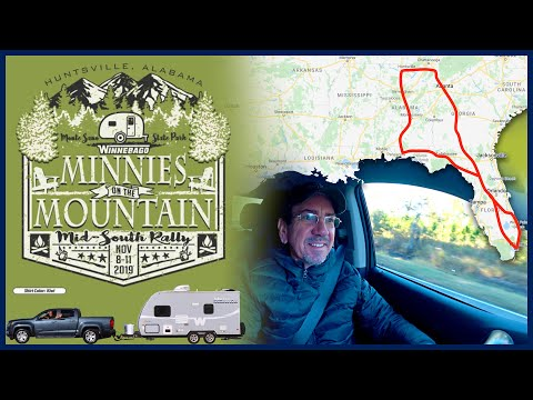Road Trip to Alabama for Minnies on the Mountain Winnebago Minnie Rally