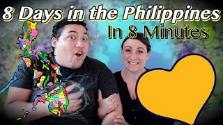 8 Days In The Philippines in 8 Minutes! | COUPLES REACTION