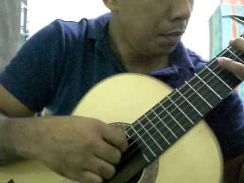 Hindi Kita Malimot solo guitar
