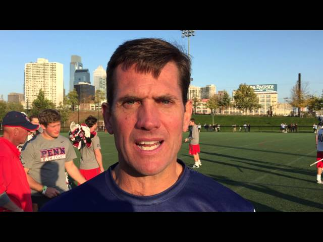 Penn coach Mike Murphy talks about the University Classic